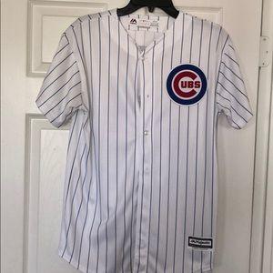 Majestic Cubs Baseball Jersey